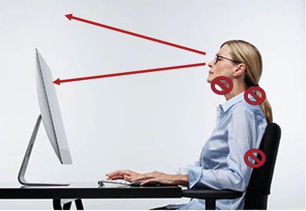 Officebrille, Computerbrille & Sehen am Monitor mir Blaudämpfer